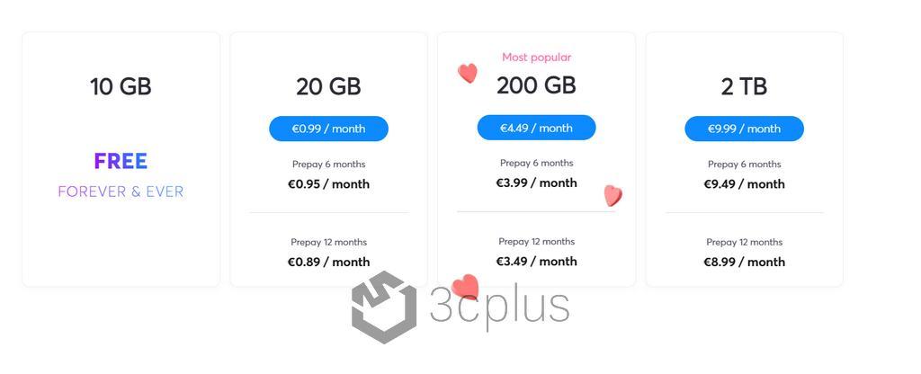 Internxt Drive 20GB 雲端空間免費大放送,只到4月30日止