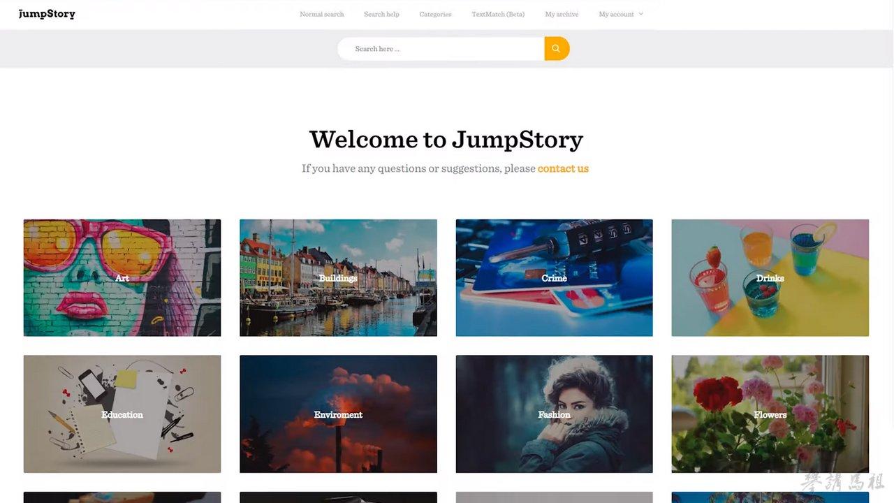 jumpstory 在各種付費圖庫中可以說是十分物美價廉的存在。