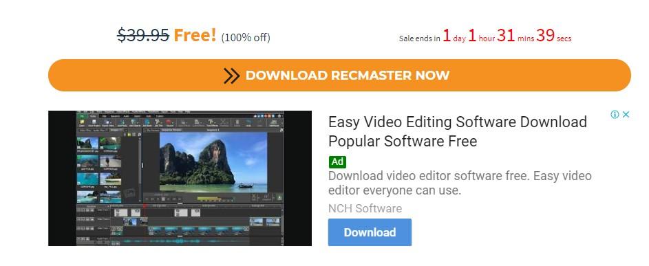 recmaster-免費的螢幕錄影工具