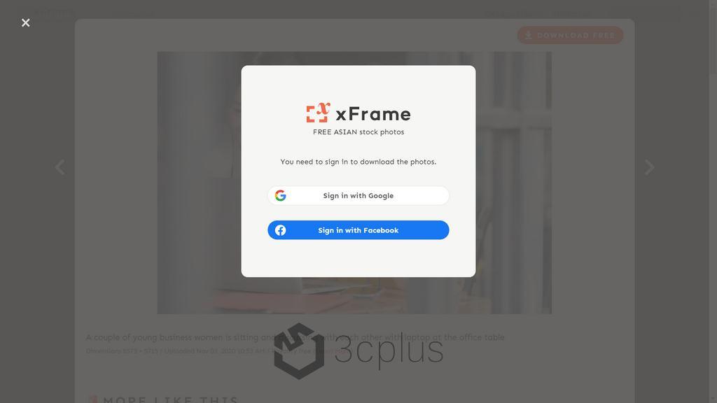Xframe | 專為東方面孔而建立的免費商用圖庫
