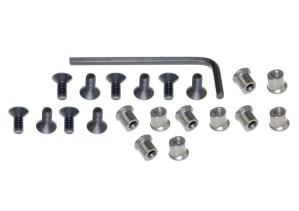 10 pack keymod nuts and screws