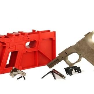 PF940Cv1-FDE Polymer80 Glock 19 Frame Kit