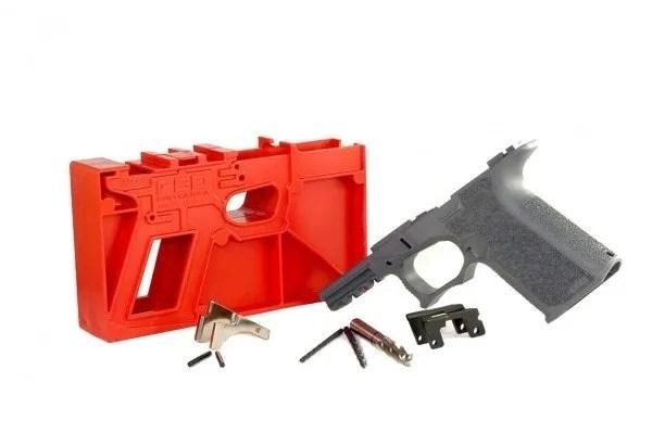 PF940Cv1-GREY Polymer80 Glock 19 Frame Kit