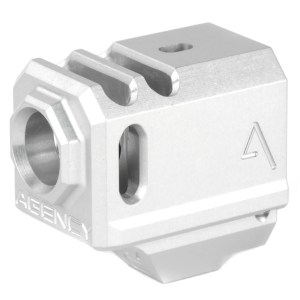 Agency Arms Grey 417 Compensator for Glock 43