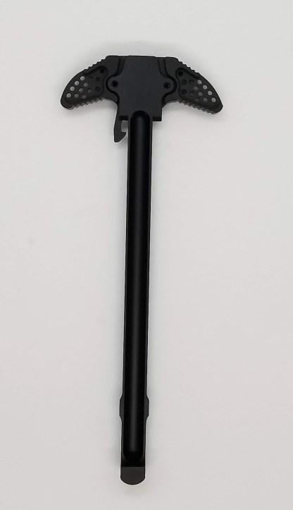 Lightweight dual latching ambi charging handle