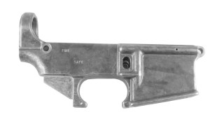 80% AR-15 Un-anodized lower receiver