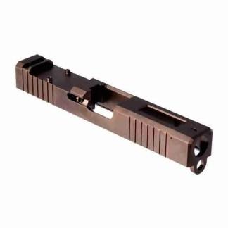 Brownells Glock 19 Gen 3 RMR Window Bronze PVD