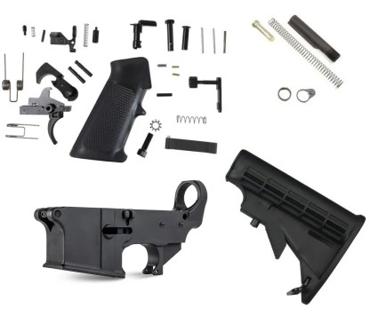 M4 80% Complete Lower Kit