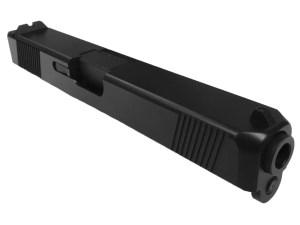 Glock 17 complete slide with black nitride barrel
