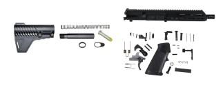 AR-15 MLOK Pistol Complete Kit