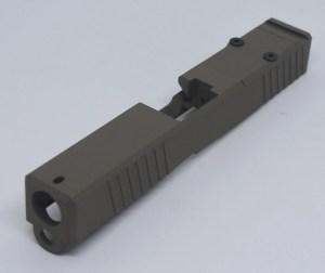 Glock 19 FDE RMR Cut Slide