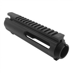 AR-15 Round slick side stripped upper receiver