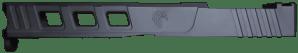Graphite Black Glock 17 elite RMR slide