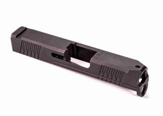 P80 Glock 43 PF9SS Black Nitride Slide