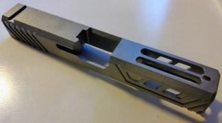 3CR Tactical Glock 19 Chamfered Raw slide
