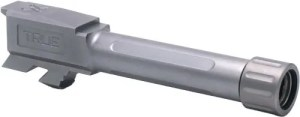 True Precision Stainless Steel Threaded Glock 43 Barrel
