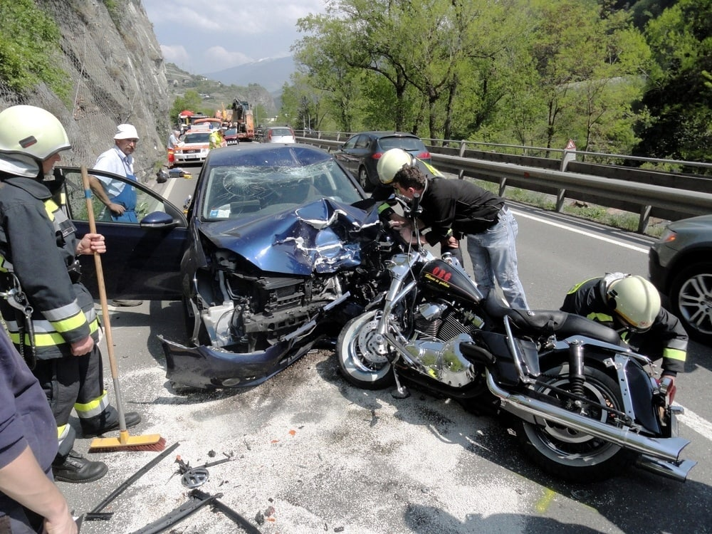 Common Places For Motorcycle Accidents In Las Vegas
