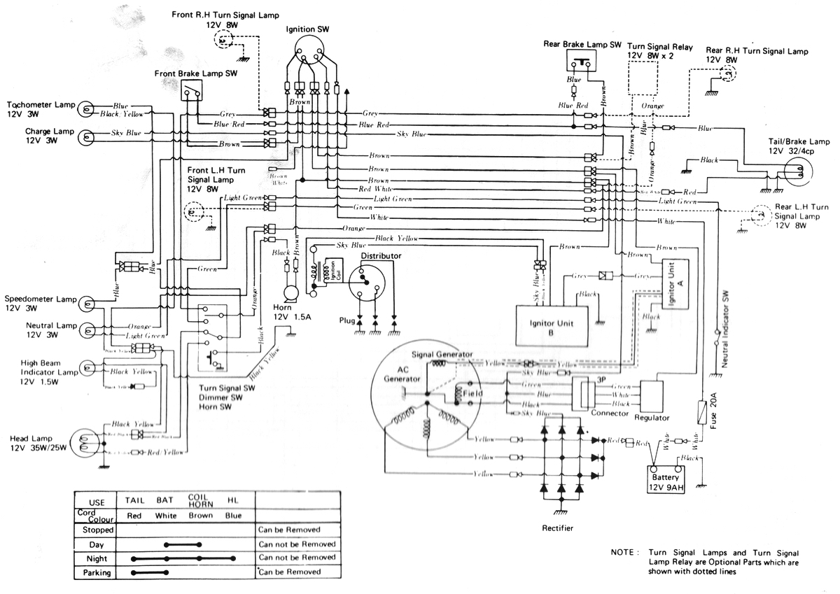 1973 Kawasaki 900 Wiring Diagram. Electrical. Auto Wiring