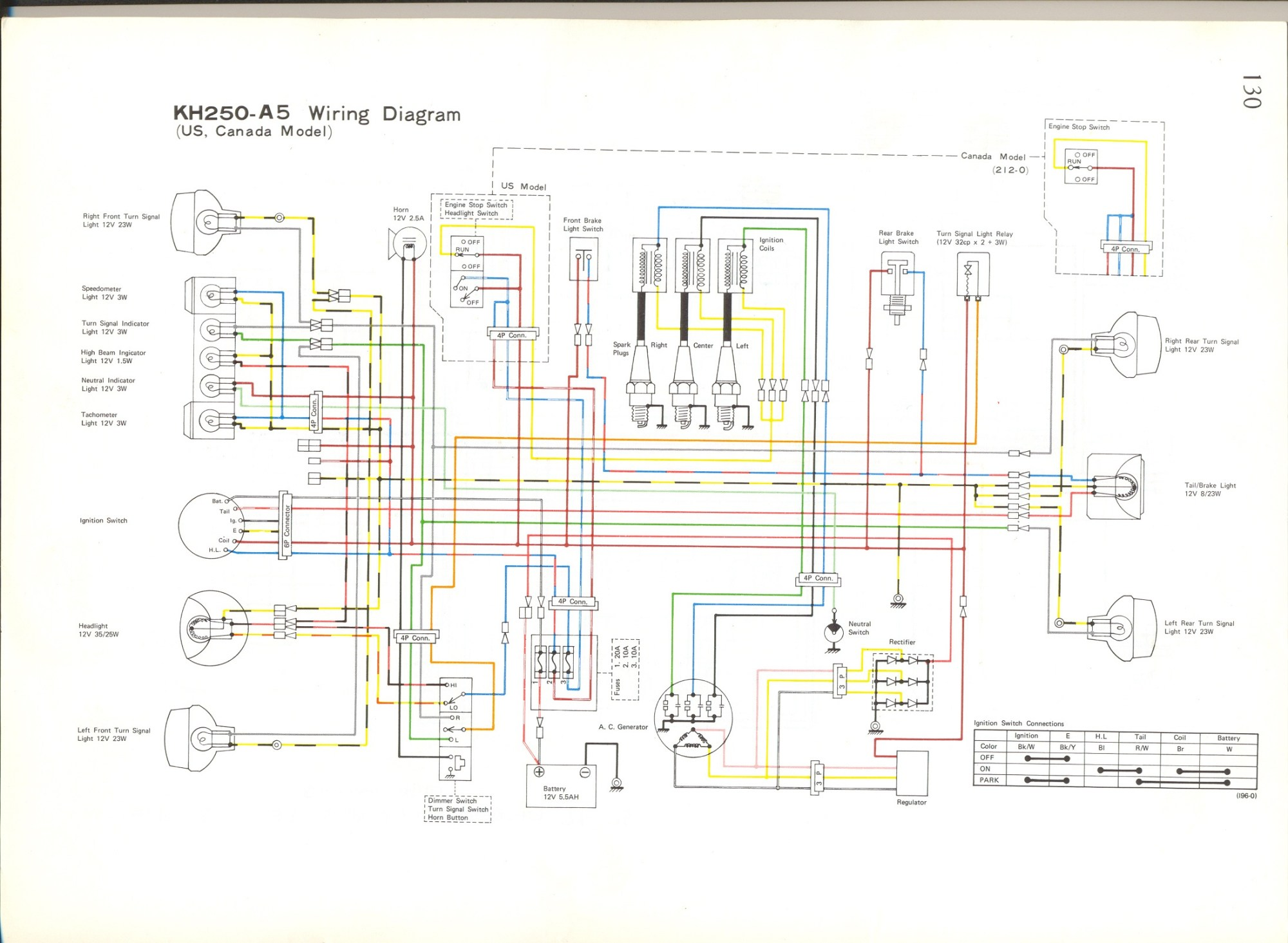 hight resolution of kh250a5 wiring diagrams kh250a5