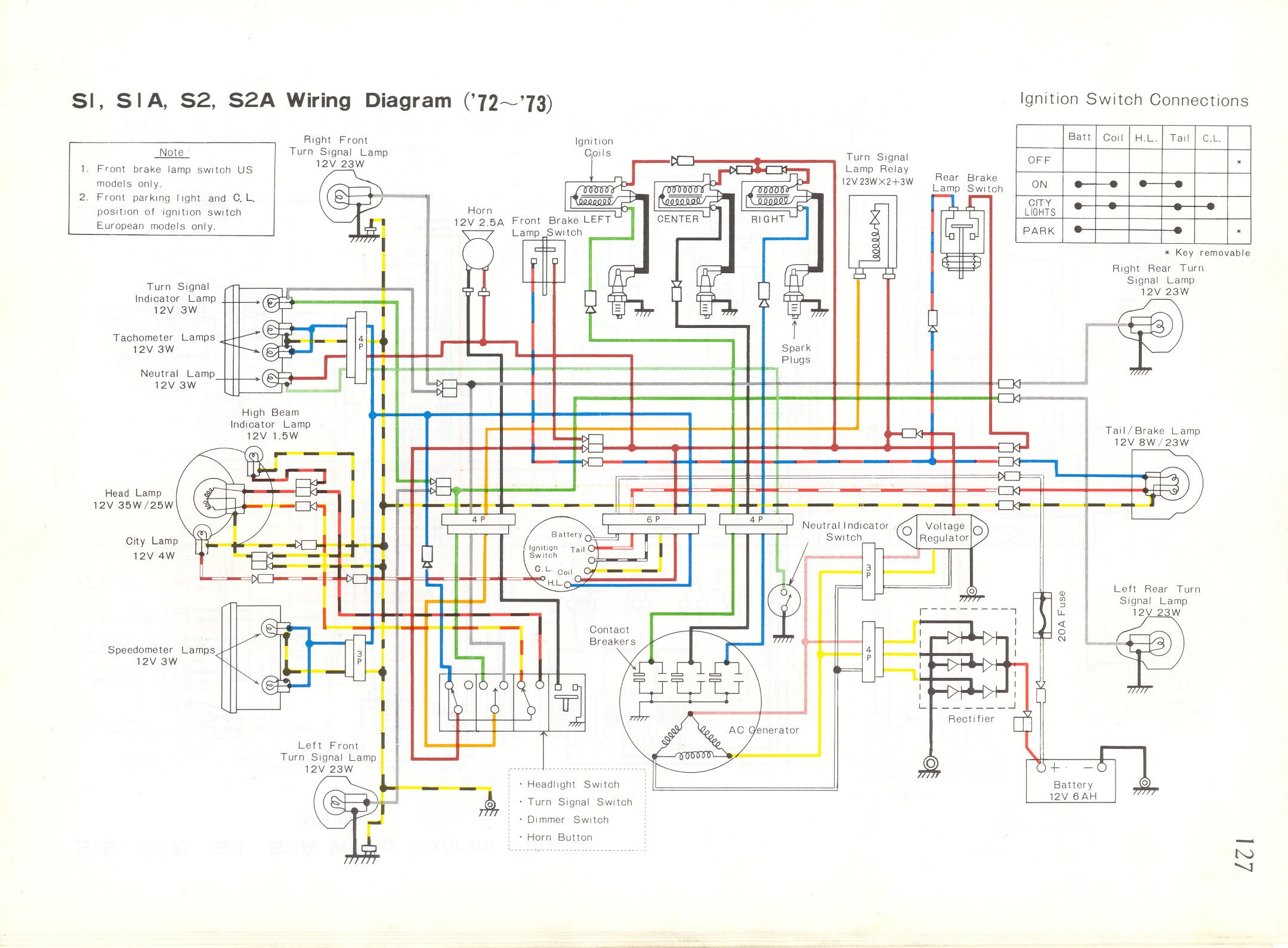 xs650 bobber wiring diagram bosch 5 pin relay 1976 yamaha xt500 ~ odicis