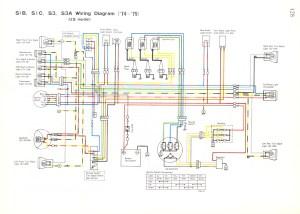 [WRG4500] Kawasaki Gt750 Wiring Diagram