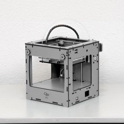 出資した超小型3Dプリンタ「BS01 BONSAI Mini」が1/31より出荷開始!