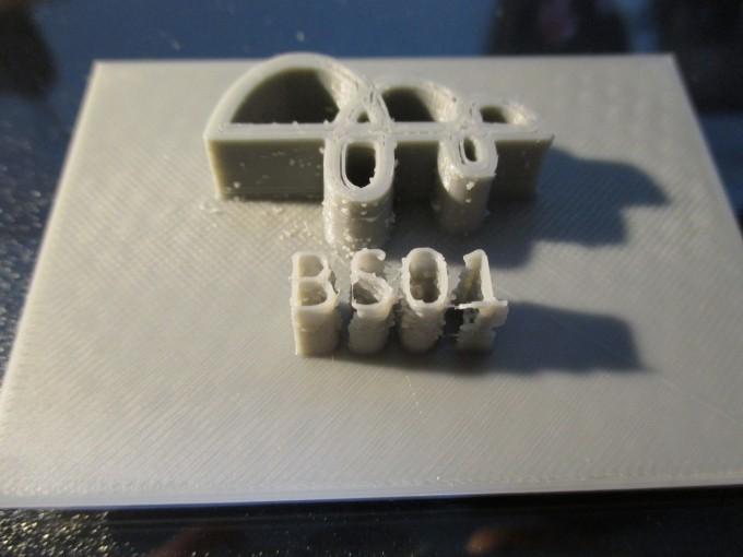 出資した超小型3Dプリンタ「BS01 BONSAI Mini」が届いて組み立ても完了しとりあえず出力まで完了
