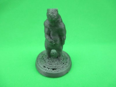 BS01造形物(PLA):Black Bear