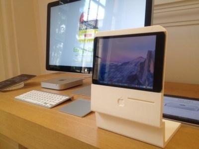 「初代Macintoshを現代風にアレンジ」というコンセプトデザインを早速実現する猛者が現る