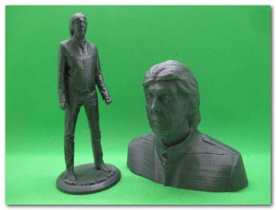BS01 造形物(PLA):ポール・マッカートニー