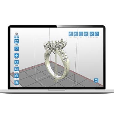 xyzprinting castpro100 xp dlp 3d printer software