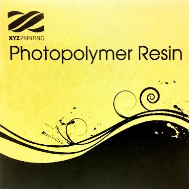 XYZprinting Resin Photopolymer