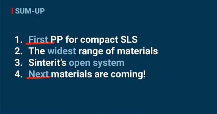 Sinterit SLS Solution