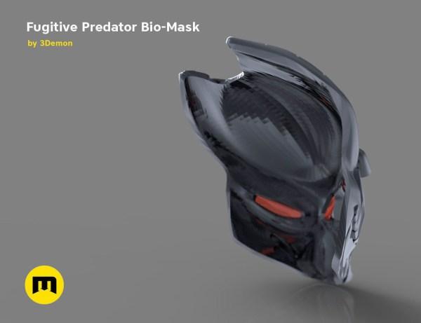 3d Printed Predator Mask - Year of Clean Water