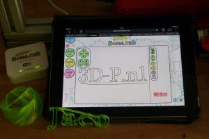 Doodle 3D WiFi het meest efficiënt bij een 3D-printer huren voor bij uw stand