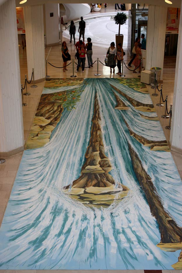 3D Pavement Art Lyon