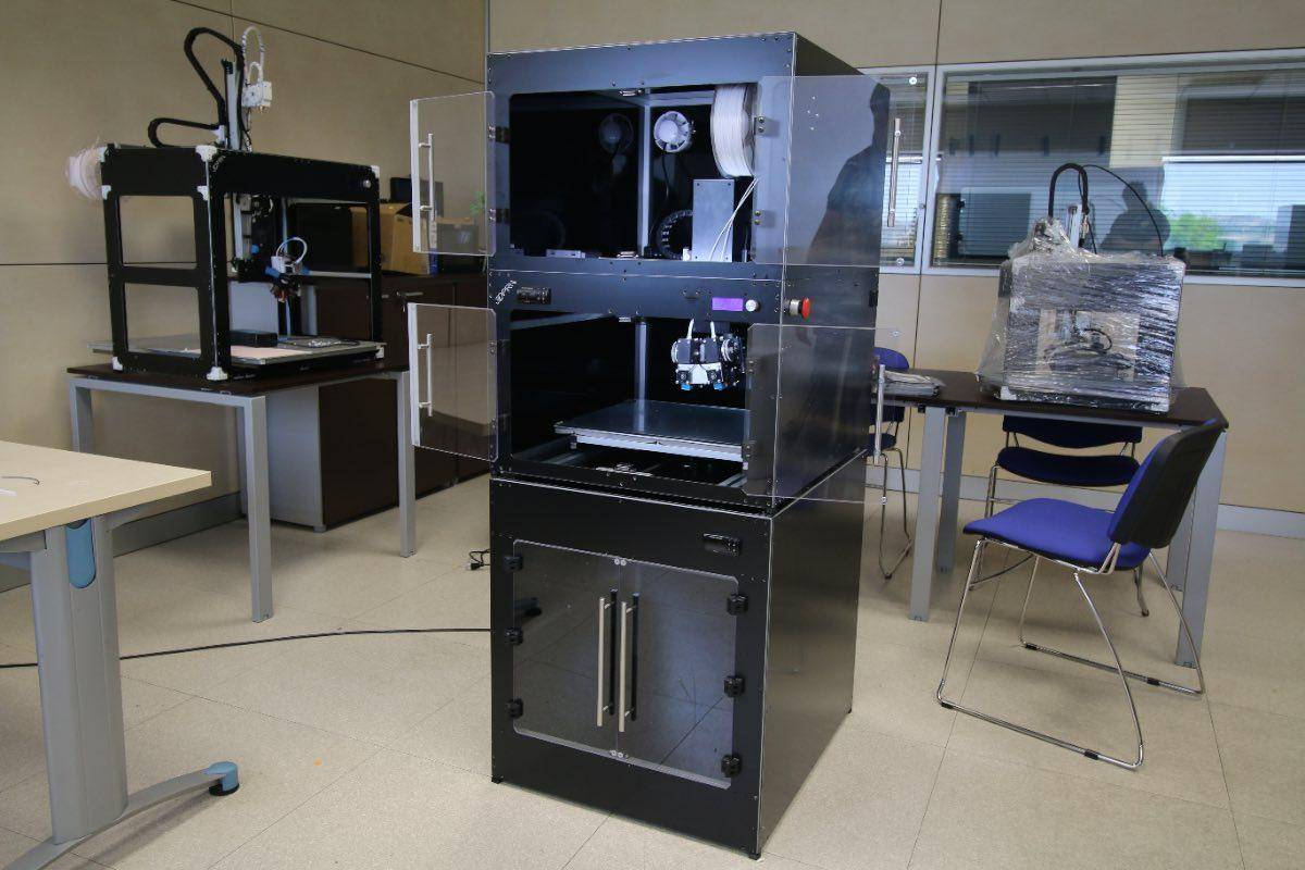 stampante 3D professionale LAB CLOSED 29
