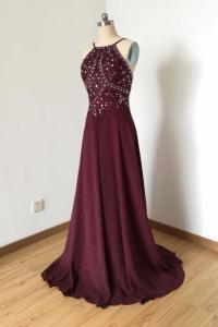 Maroon Prom Dresses on Luulla