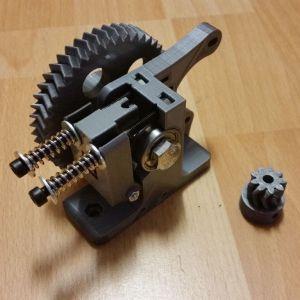 3D Printer Geared Extruder