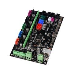 mks gen v1 4 3d printer mainboard controller [ 1000 x 1000 Pixel ]