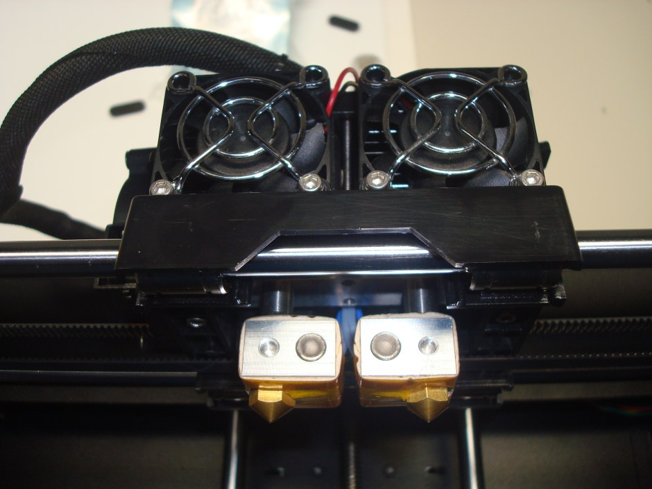 X-pro dual extruder