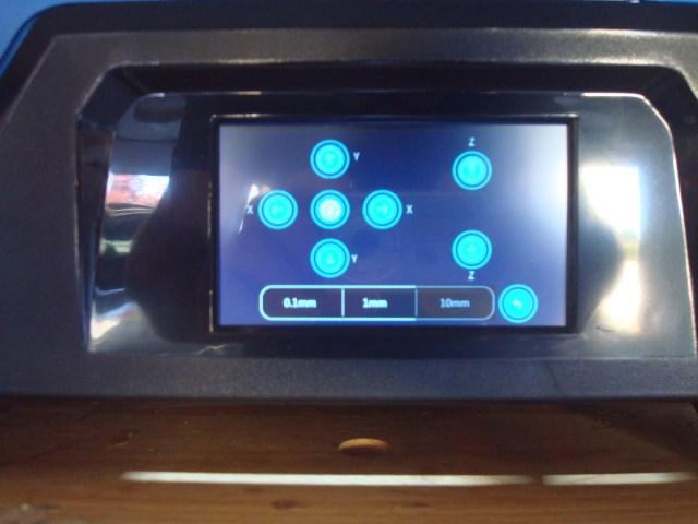 touch screen 3d printer