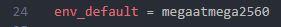 line 24 marlin env_default setting