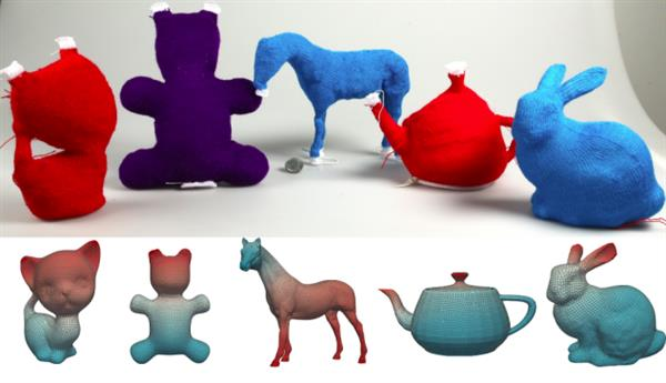 Transform Your 3d Models Into Knitted Toys Using A Software 3d