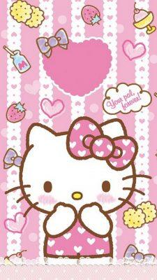 Wallpaper Hello Kitty 3d