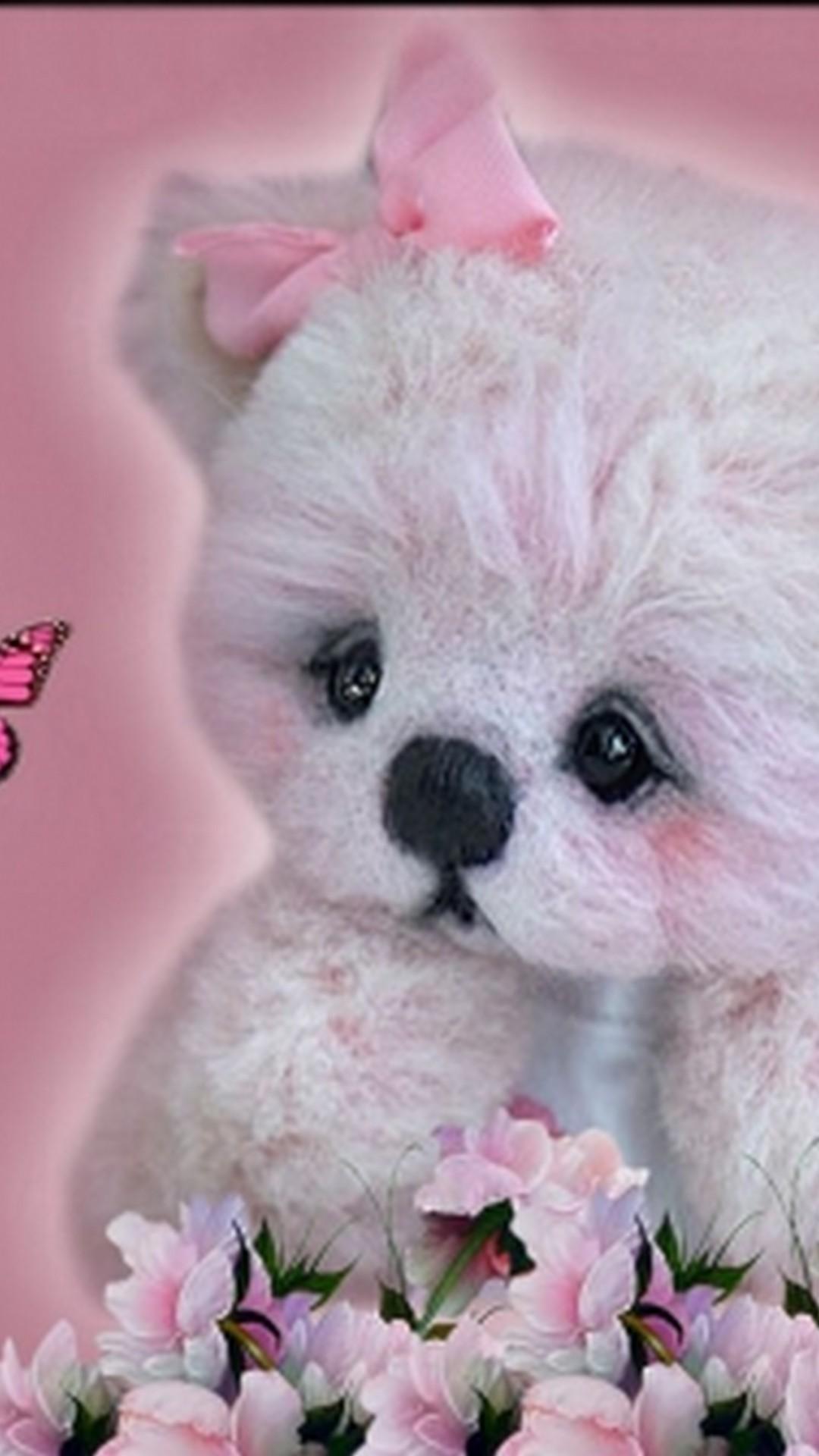 wallpaper cute teddy bear