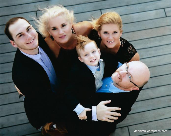 Colton, Toni, Jett, Sarah and Ken