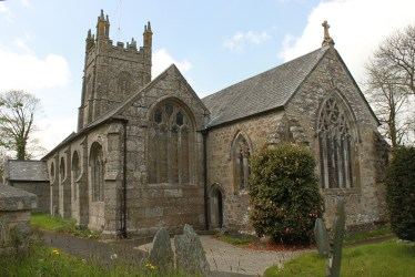 church medieval windows doors 3d callington st liskeard completion wing east reconstruction ive located between