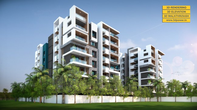 modern apartments exterior design