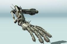 Rigged Robot Arm Animated on Studio Verold
